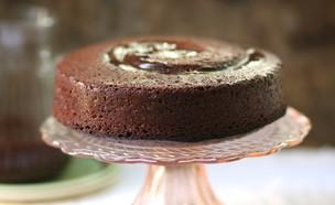 עוגת שוקולד ודבש (צילום: קרן אגם, אוכל טוב)
