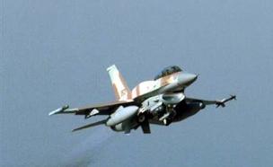 מטוס קרב F16I (צילום: חדשות 2)