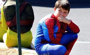 הלוויית גיבורי על לילד בן 6 (צילום: חדשות 2)