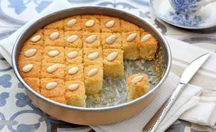 עוגת סולת אוורירית (צילום: ענבל לביא, אוכל טוב)