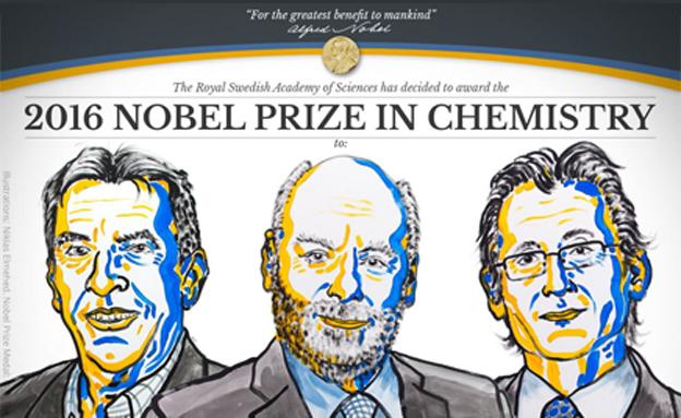 זוכי הנובל בכימיה (צילום: nobelprize)