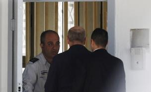 אולמרט, כלא (צילום: חדשות 2)