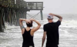 נזקים בפלורידה, הסערה מתקדמת צפונה (צילום: רויטרס)