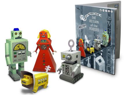 PaperCat Return of the Robots