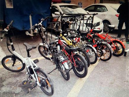 מבחן האופניים החשמליים