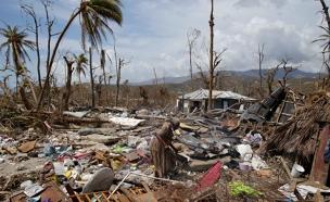 הרס בהאיטי בעקבות ההוריקן מת'יו (צילום: רויטרס)