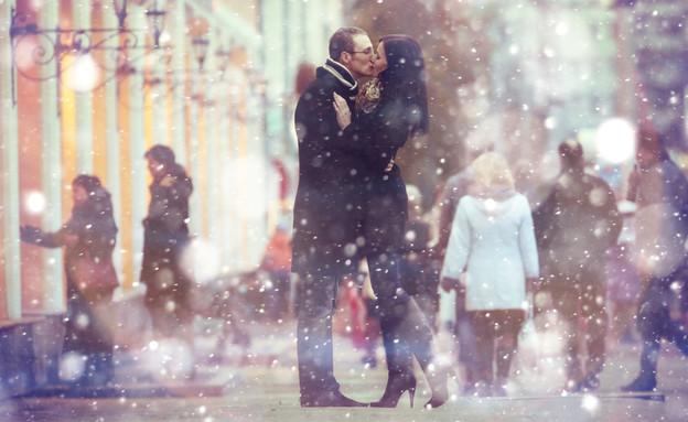 זוגיות בחורף (צילום: Shutterstock)