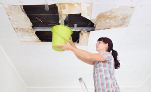 נזילה מהתקרה (אילוסטרציה: Shutterstock)
