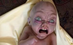 תינוק מטריד (צילום: צילום מסך מקור MAKO)