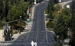 כביש ריק ביום כיפור (צילום: רויטרס)