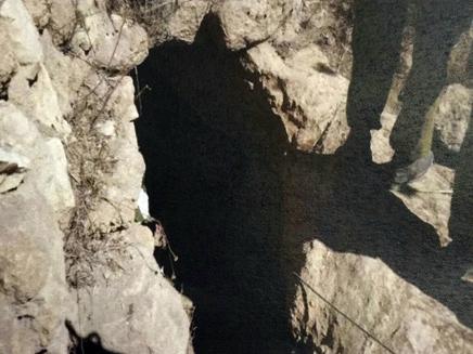 פיר המנהרה שנחפר