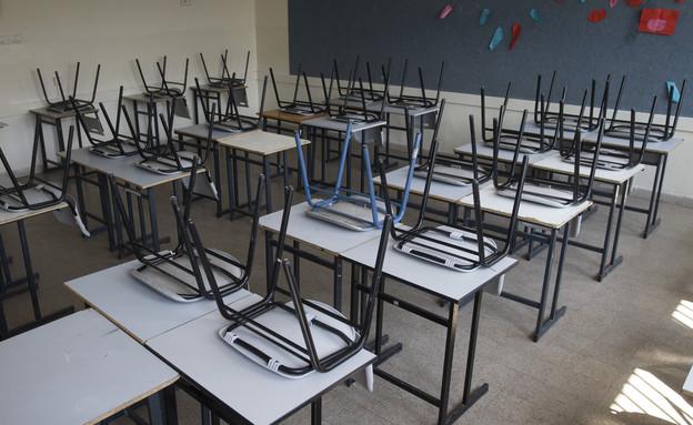 כסאות בכיתה (צילום: יונתן סינדל, פלאש 90, צילום׃ פלאש 90, יונתן סינדל)