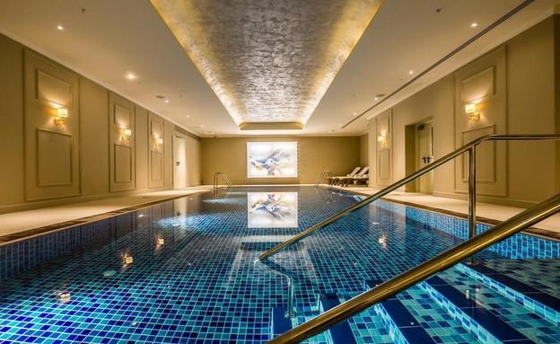 הבריכה במלון הרברט סמואל ירושלים (צילום: איתי סיקולסקי,  יחסי ציבור )