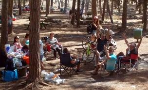 ממנגלים ונופשיםביערות ובפארקים (צילום: שמעון בן גיגי, קקל)