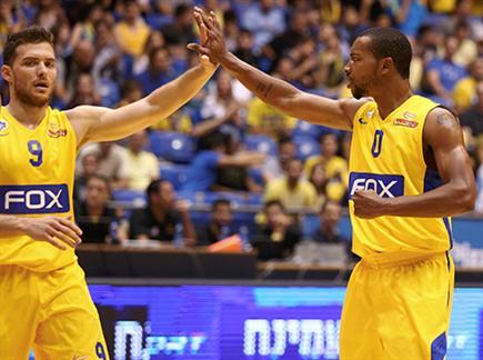 הצהובים חגגו ניצחון שני בליגה (אלן שיבר) (צילום: ספורט 5)