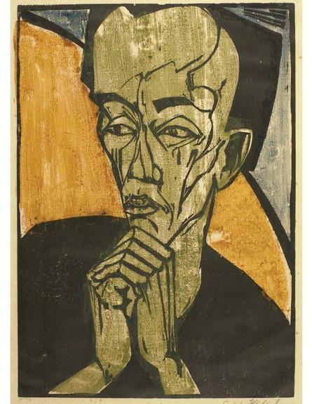 מכירה פומבית בואי, אריך הקל,  Portrait of a Man (Männerbildnis)