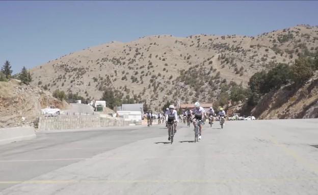 """רוכבים 400 ק""""מ למען ישראל (צילום: FIDF)"""
