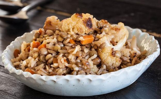 מג'דרה ירקות (צילום: אסף רונן, אוכל טוב)