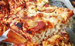 פיצה ביתית של שי ברנדס (צילום: שי ברנדס)