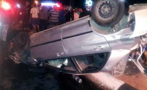 זירת התאונה, הלילה