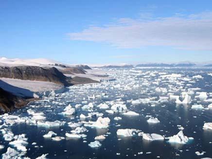 קרחונים בגרינלנד (צילום: חדשות 2)