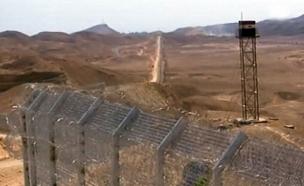 גבול מצרים, כביש 12 (צילום: חדשות 2)
