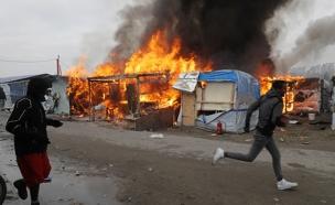 חנה הפליטים בקאלה (צילום: חדשות 2)