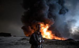 הקרב על מוסול (צילום: Carl Court, GettyImages IL)