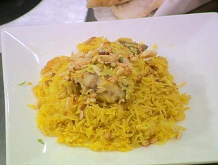 """סיידה - אורז צהוב עם חריימה (צילום: מתוך """"מאסטר שף"""" עונה 7, שידורי קשת)"""