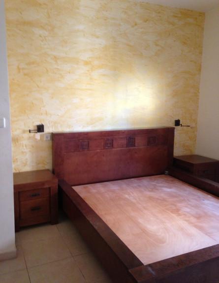 אריאלה ענבר, ג, חדר שינה לפני השיפוץ