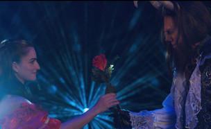 היפה והחיה – עוז זהבי ואניה בוקשטיין (צילום: אול סטייג' אורלי מויאל ומעין צלנר)