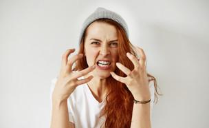 אישה עצבנית (צילום: Shutterstock, מעריב לנוער)