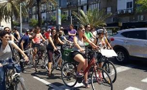 מסע אופניים למען בית השאנטי. ארכיון (צילום: שירי בלומברג, חדשות 2)