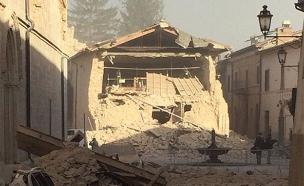 מבנים רבים קרסו (צילום: טוויטר)