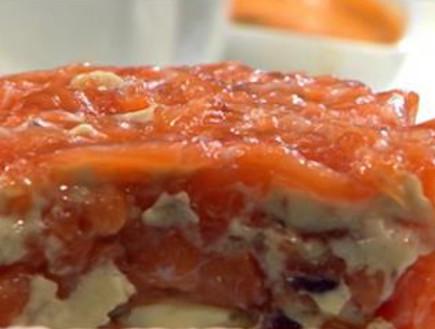 עוגת סלמון