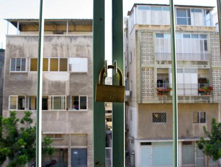 דירת פליטים בדרום תל אביב, 2008