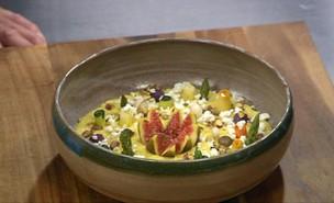 """עמק פולנטה עם ירקות מושלגים (צילום: מתוך """"מאסטר שף"""" עונה 7, שידורי קשת)"""