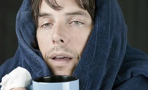 גבר חולה (צילום: ShutterStock)