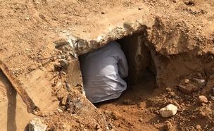המנהרה שהתגלתה בניר-עם