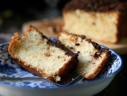 עוגת וניל ופירורי קקאו