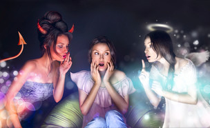 מלאך או שטן (צילום: Shutterstock, מעריב לנוער)