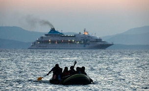 ספינת פליטים. ארכיון (צילום: רויטרס)