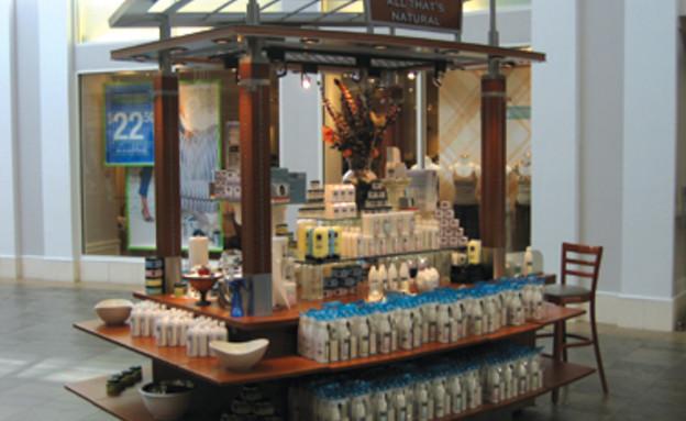 דוכן מכירות בקניון של חברת רסקו בקניון בארצות הברית (צילום: אתר החברה)