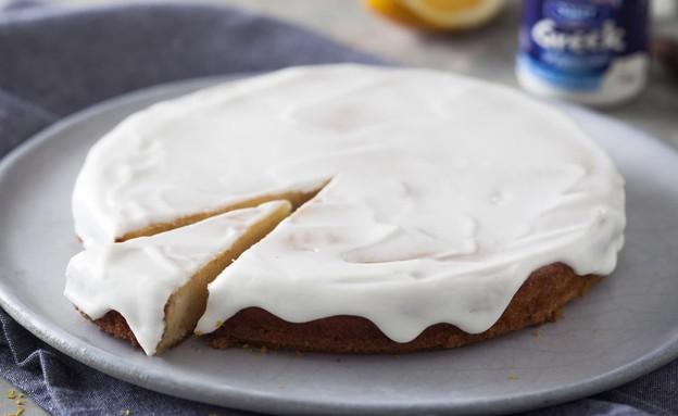 עוגת יוגורט תפוז דנונה (צילום: בבושקה הפקות)