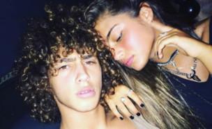 נועה קירל וברק שמיר (צילום: instagram)