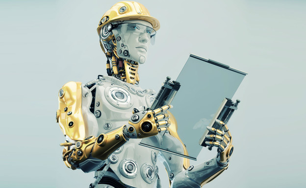 רובוט עובד במקום בן אדם (צילום: Ociacia, shutterstock)