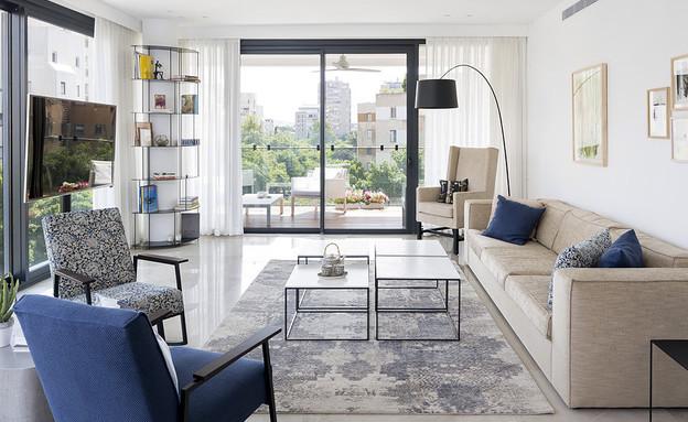 שטיחים02, שטיח של 'צמר שטיחים יפים' (צילום: שי אפשטיין, אדריכלות ועיצוב-הרשאגה שטרנברג אדריכלים, סטיילינג לצילומים-עופרי פז)