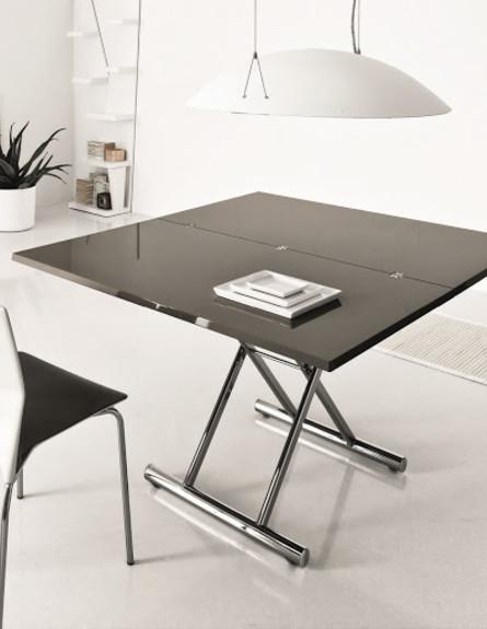 ריהוט מודולרי, רשת ROSSETTO, שולחן מתקפל ומתרחב