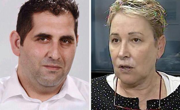 """עו""""ד תמי אולמן ועו""""ד שאדי סרוג'י פרקליטי (צילום: חדשות 2,  שאדי סרוג'י)"""