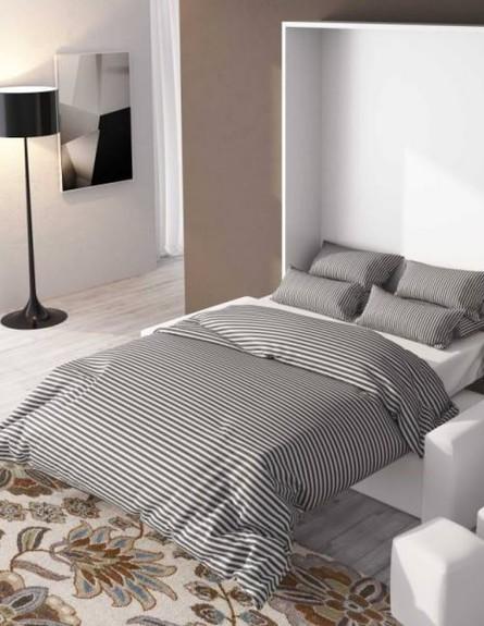 המותג BedLift   של פרד אלבז -  , מיטה זוגית נסתרת בארון וספה דו מו (צילום:  bedlift.co.il)